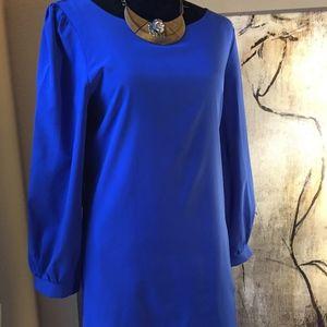 Tobi Royal Blue / Cobalt 3/4 sleeve mini dress S